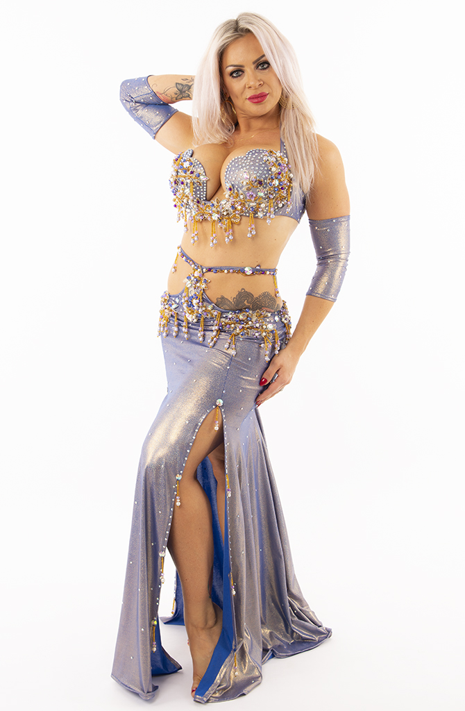 Belly Dance Costume - Lilac Dream
