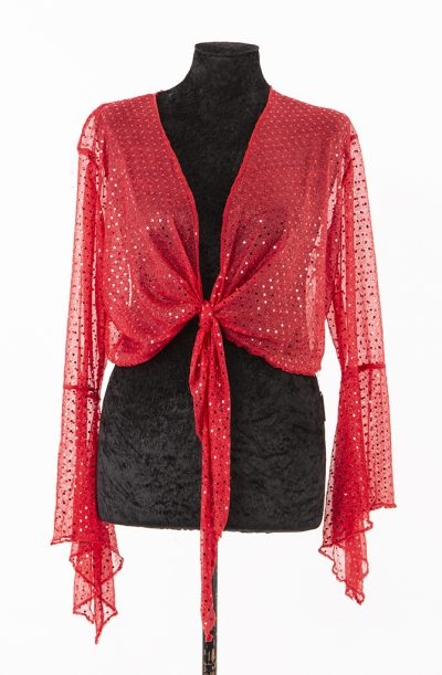 Gypsy Top - Red Sparkle