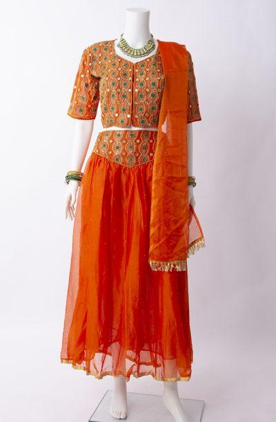 Bollywood Orange Costume