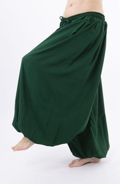 Pantaloon / Harem Pants - Forrest Green