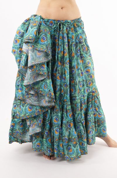25 Yard Gypsy Skirt - Peacock