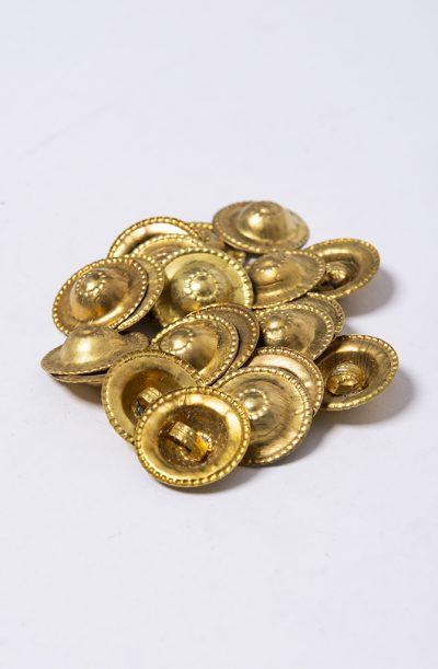 Turkaman Antique Brass Buttons