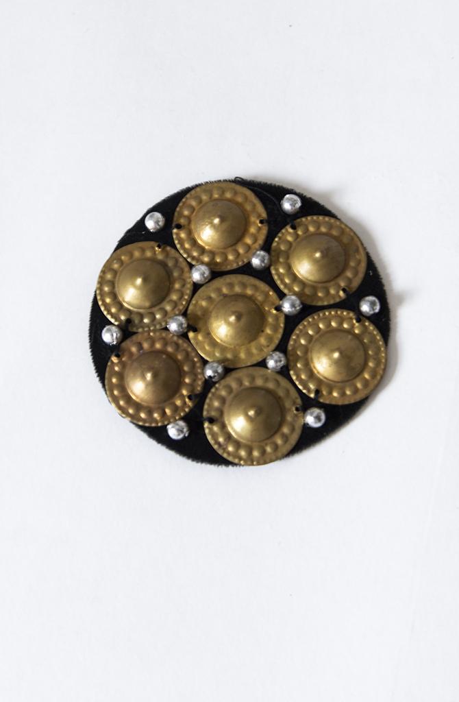 Turkaman Button Medallion