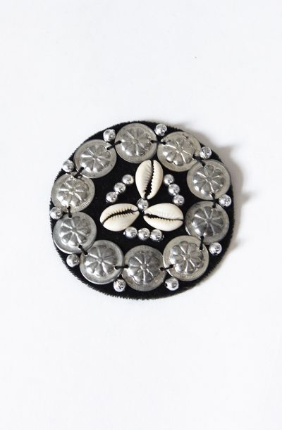 Cowrie Shell & Amulet Medallion