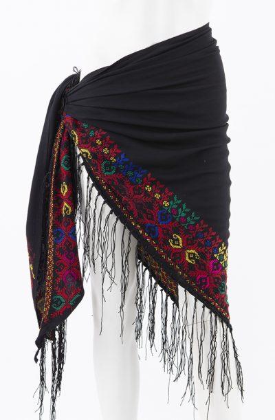Bedouin Cross Stitch Shawl - Style - 2