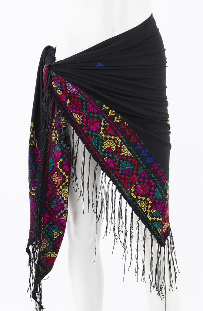 Bedouin Cross Stitch Shawl - Style - 3