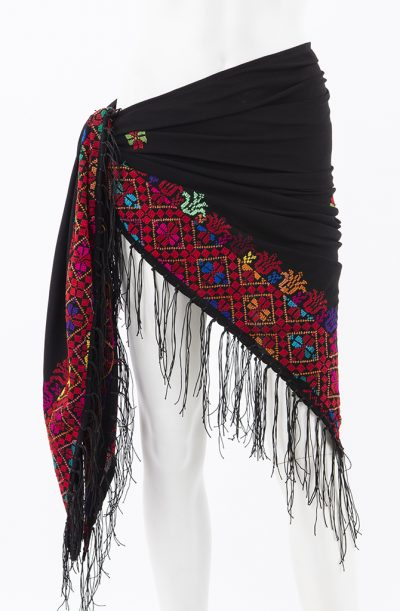 Bedouin Cross Stitch Shawl - Style - 4