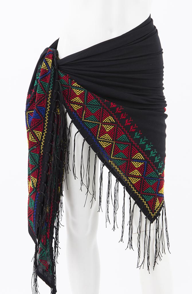 Bedouin Cross Stitch Shawl - Style - 5