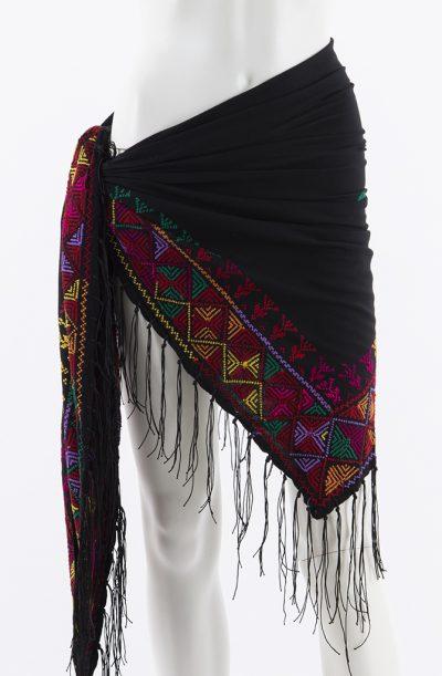 Bedouin Cross Stitch Shawl - Style - 6