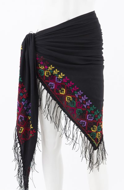 Bedouin Cross Stitch Shawl - Style - 7