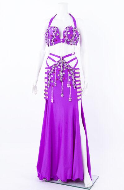 Belly Dance Costume - Daring Deep Pink