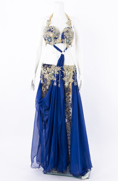 Belly Dance Costume - Egyptian Blue