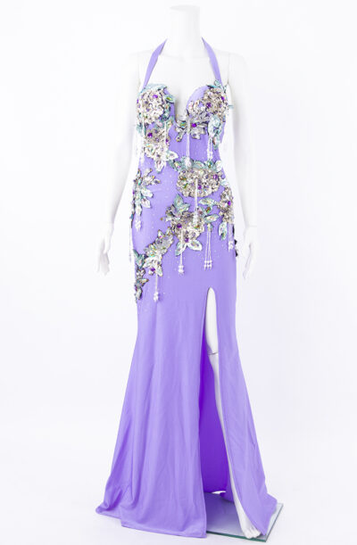 Belly Dance Dress - Lush Lavender